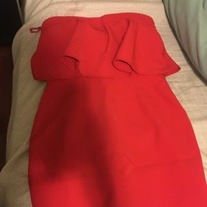 Red dress ( never worn )
